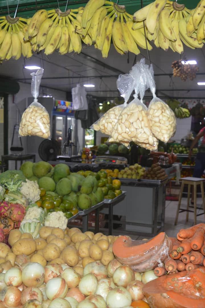 Mercado São Sebastião: primeira parada