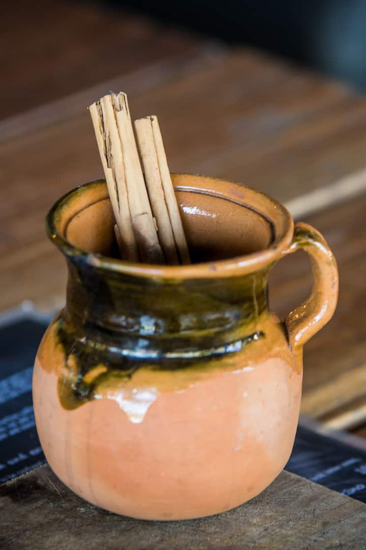 Learn the recipe & take home a clay mug!