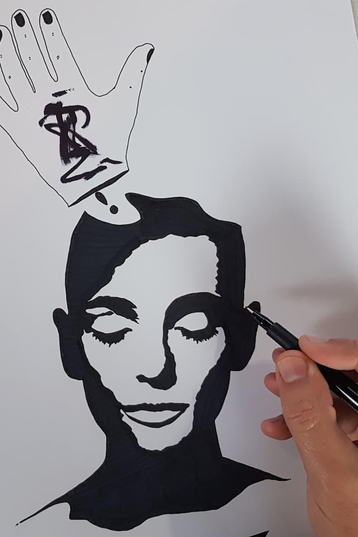 Acabando um desenho