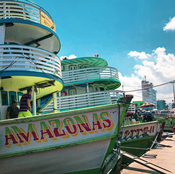 Conheça o melhor do porto de Manaus