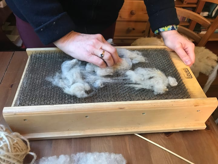 how to prepare the wool