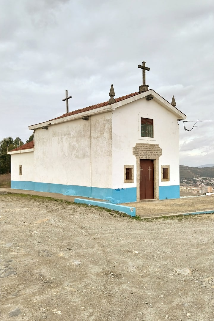 Small chapel on top of a hill