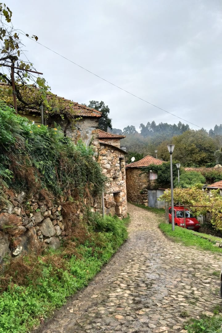 Typical Portuguese village of the region