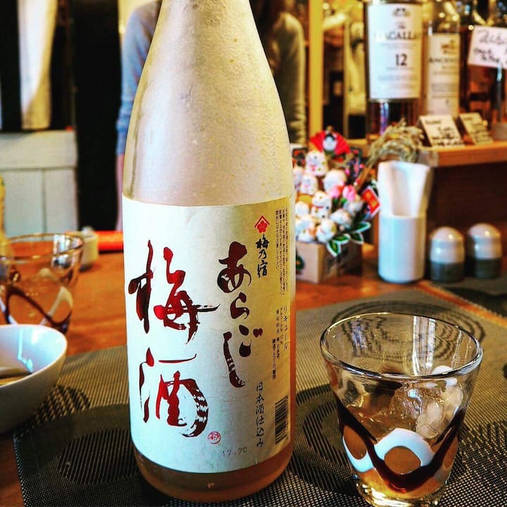 Several liquor tasting inc Umeshu