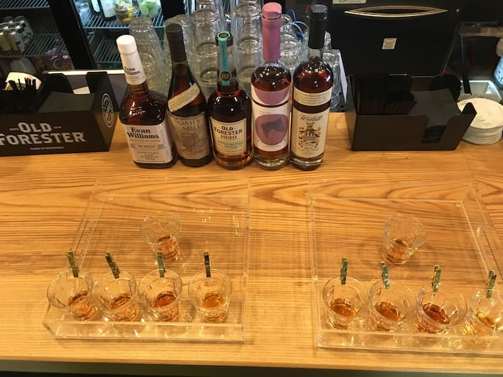 Sample of a recent tasting.