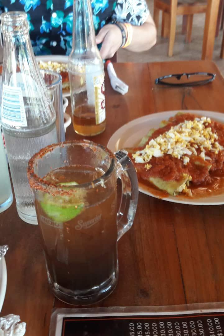 Rica comida Yucateca a la carta