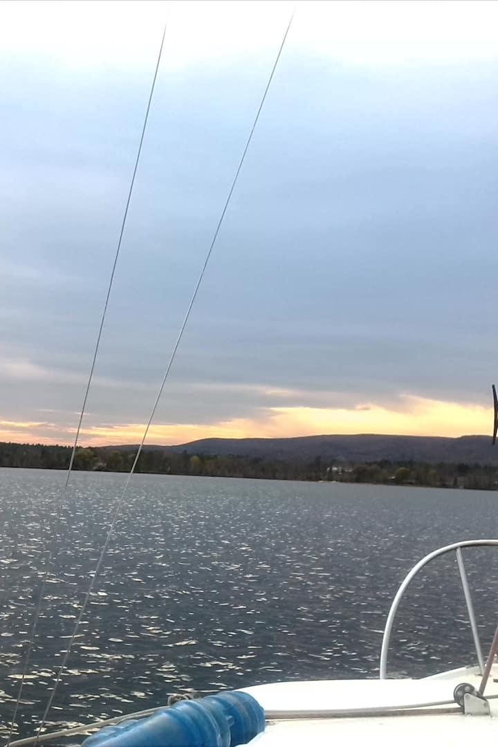 Sunset Saiil
