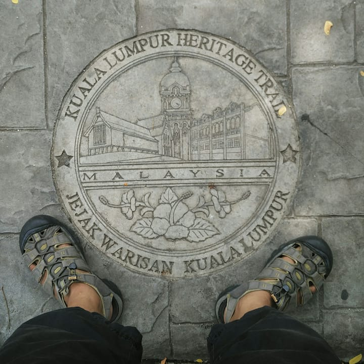 part of the Heritage trail of KL