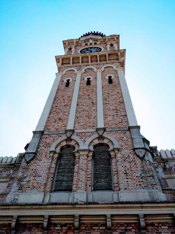 Clock tower of SASB