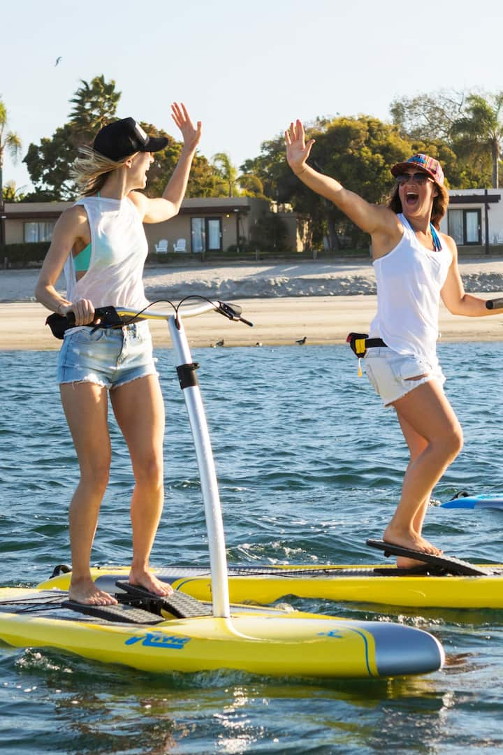 Pedal state of the art Hobie Boards