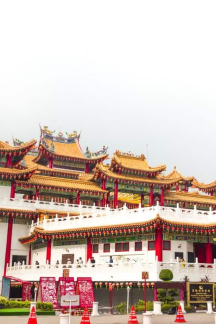 Thean Hou temple.