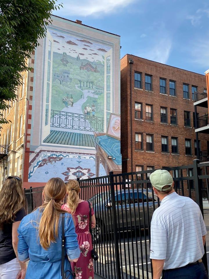 Enjoy a guided neighborhood tour