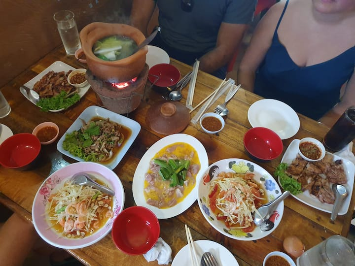 Authenthic northeast thai food