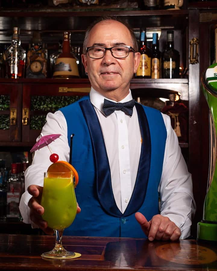 Come meet bartender Miguel tonight!