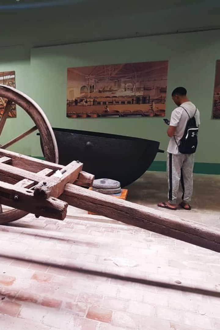 Sugar Cane Industrie Cart