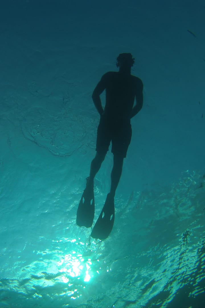 floating in the surface gozo island