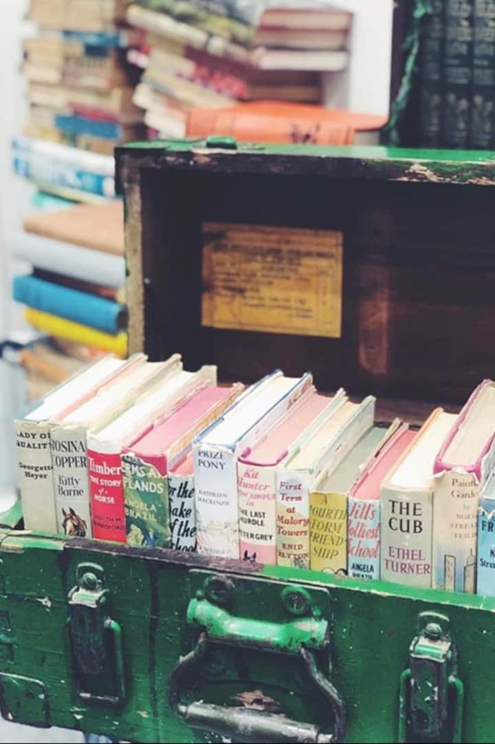Old books exert a strange fascination...