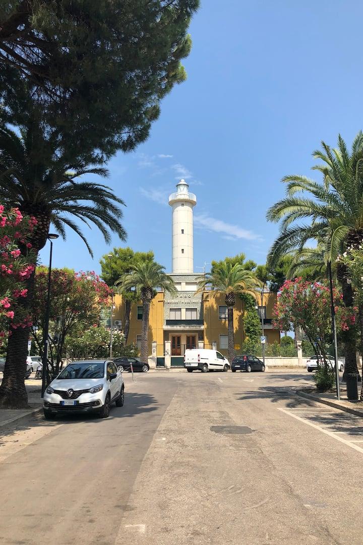 Lighthouse from Rotonda Giorgini