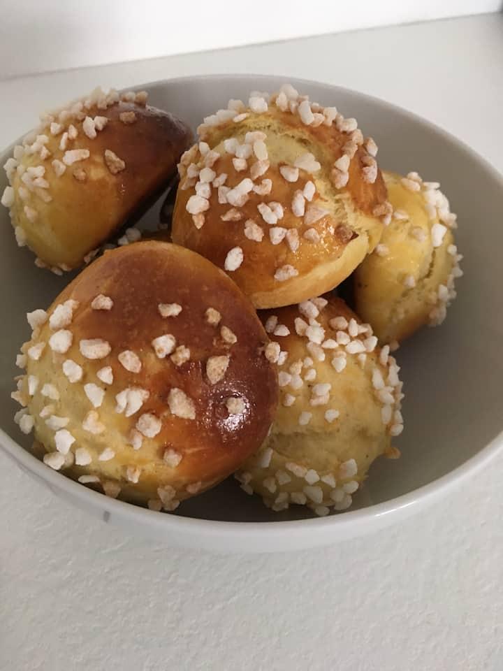 Traditionnelles boules au sucre