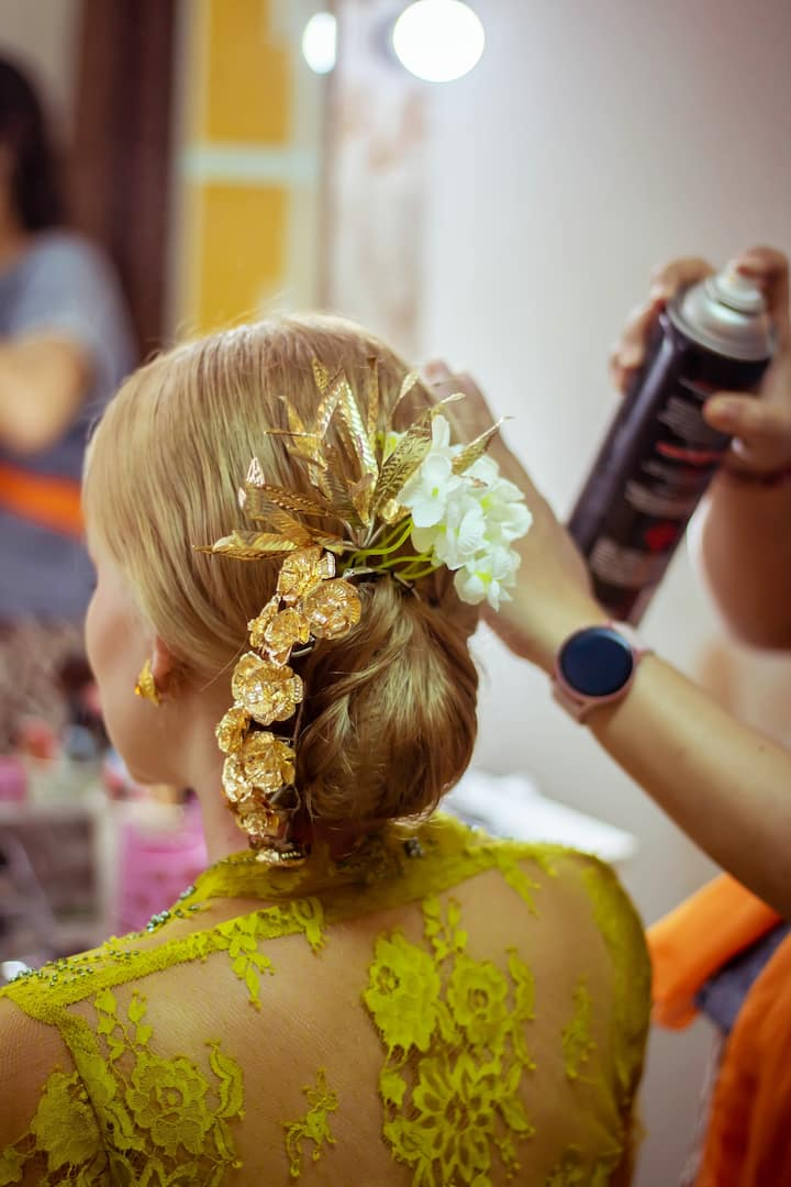 Include Traditional Balinese Hairdo
