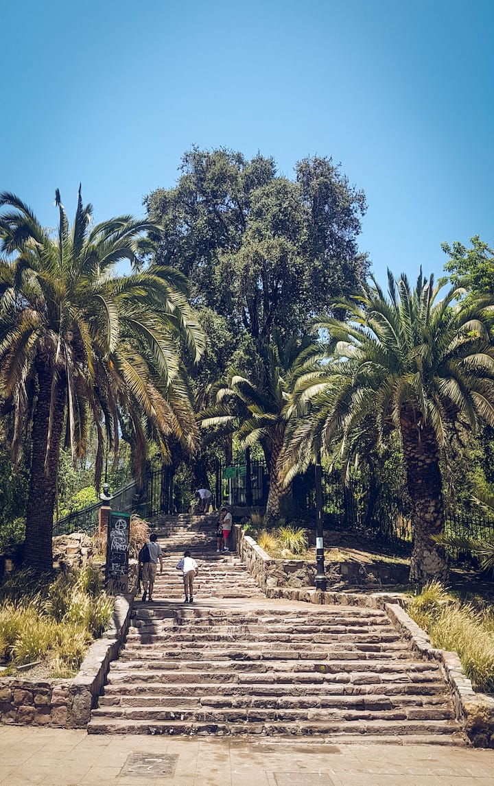 Meeting Point - Stairs to Santa Lucia