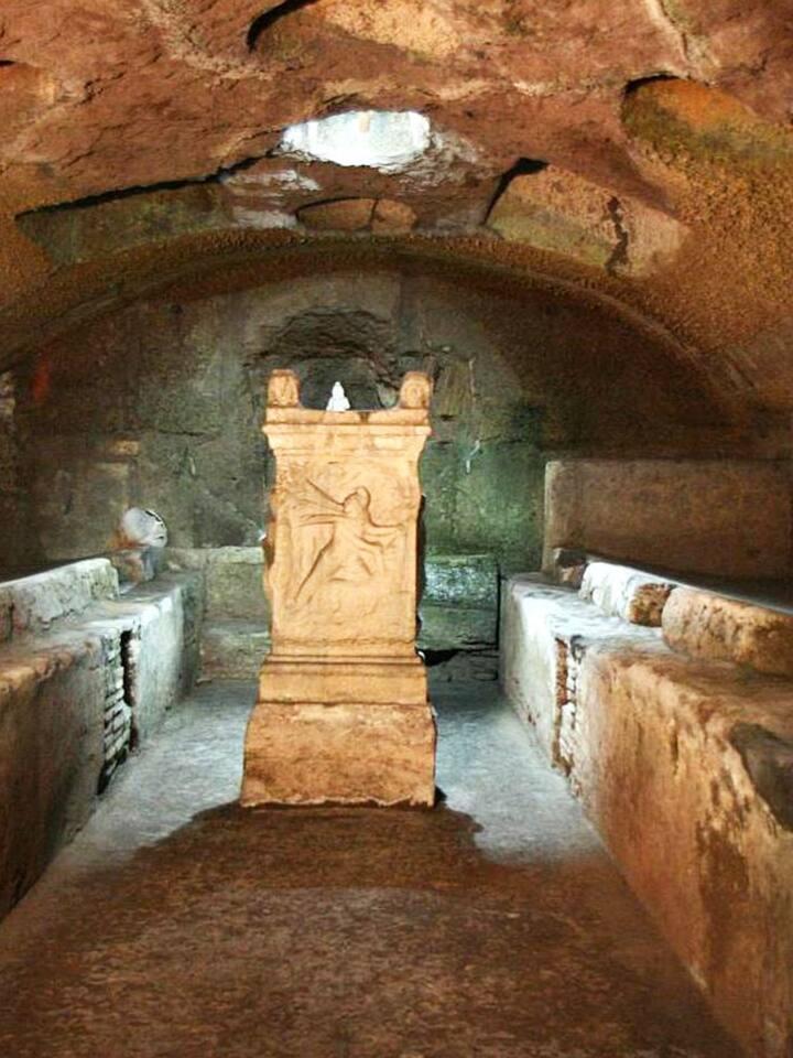 Saint Clement Basilica underground