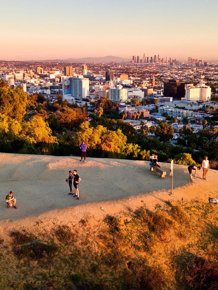 Beautiful Views above LA