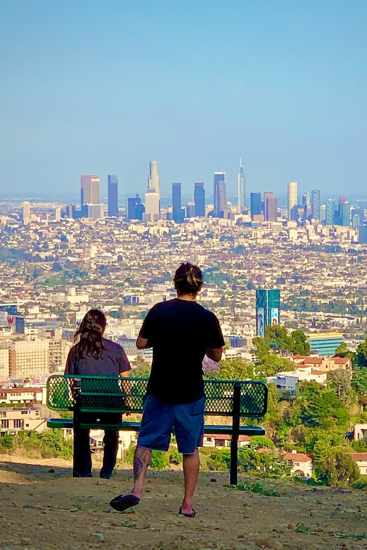 See Incredible Views of LA   Skyline