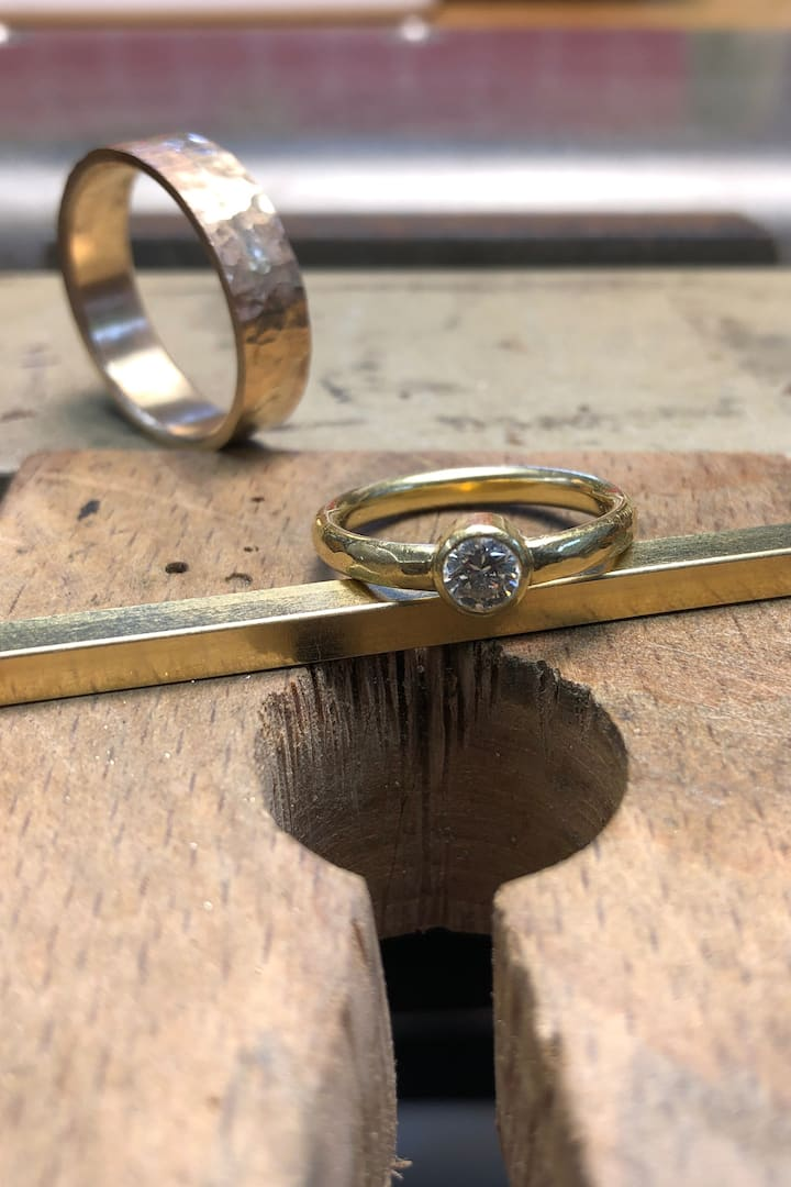 Finished rings!