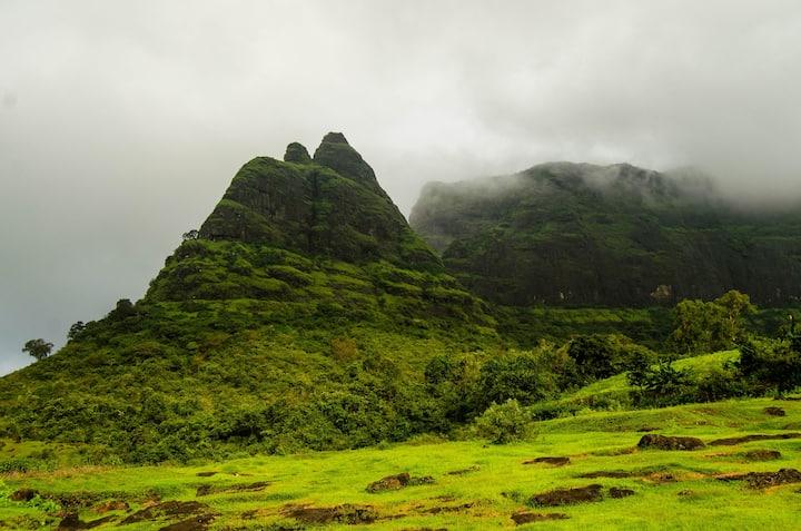 The pinnacle during monsoon season