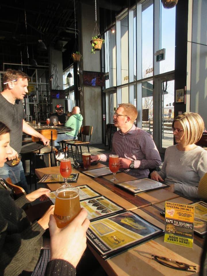 Let's talk beer at the brewpub!
