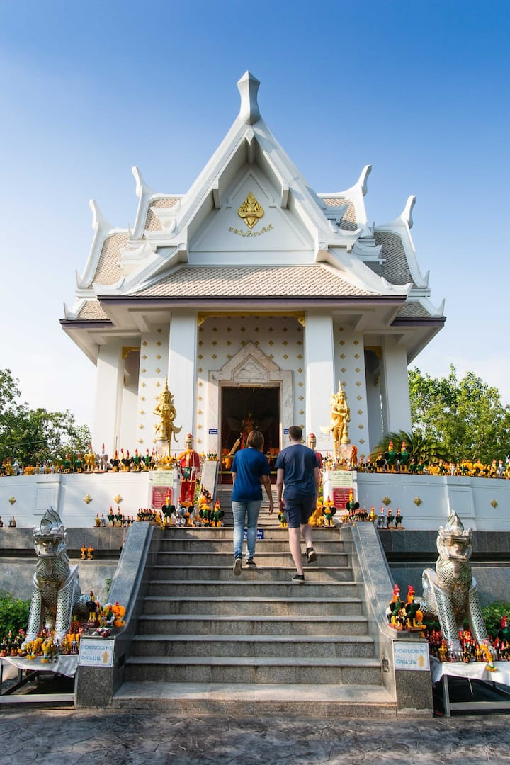 Visit the local temple nearby