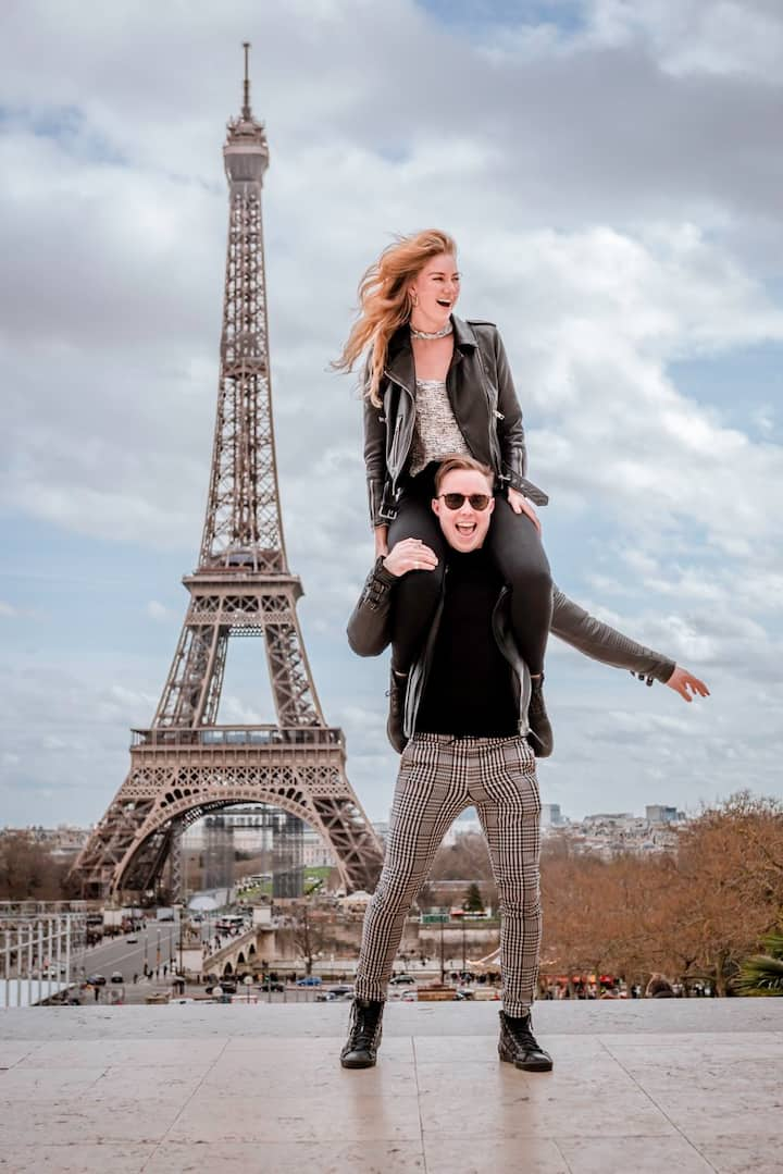 Romantic Photoshoot Of You In Paris For