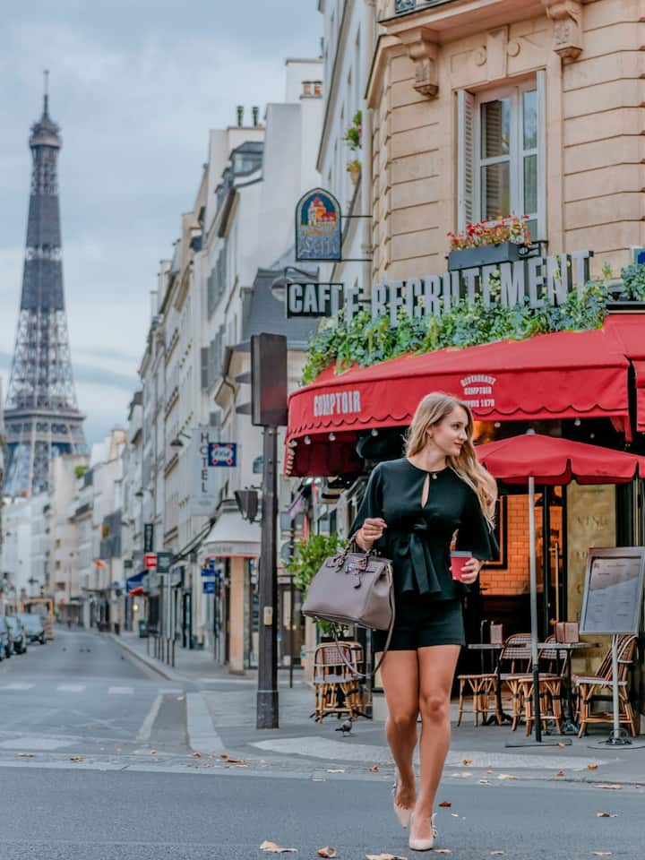 Lifestyle Photoshoot Of You In Paris For