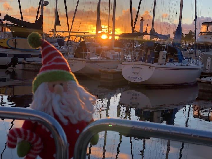 Santa will be onboard!