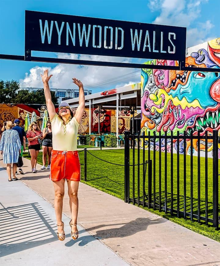 Wow, I arrived at Wynwood Walls!!!