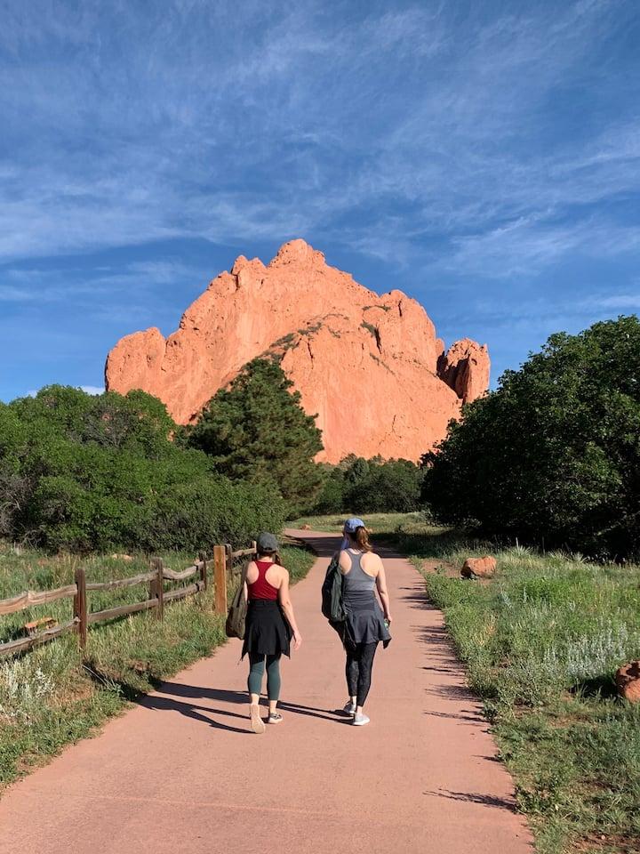 Walking through Gateway Rocks!