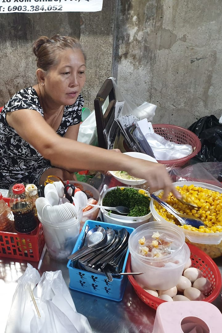 Local lady cook
