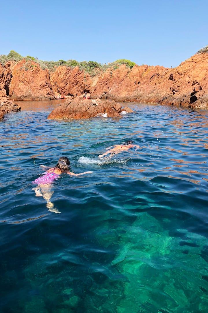 Pause snorkeling