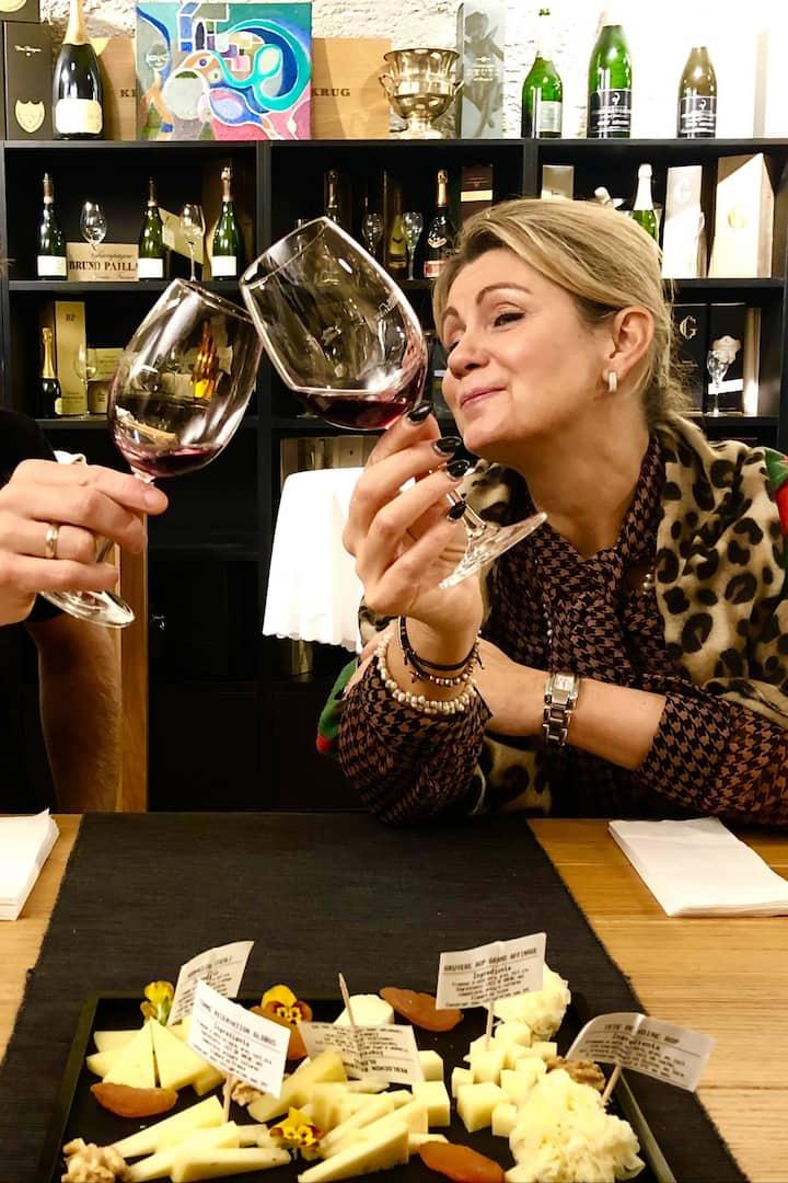 Dégustation vin en Amoureux