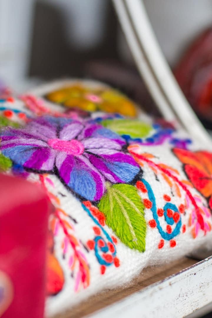 colores y flores