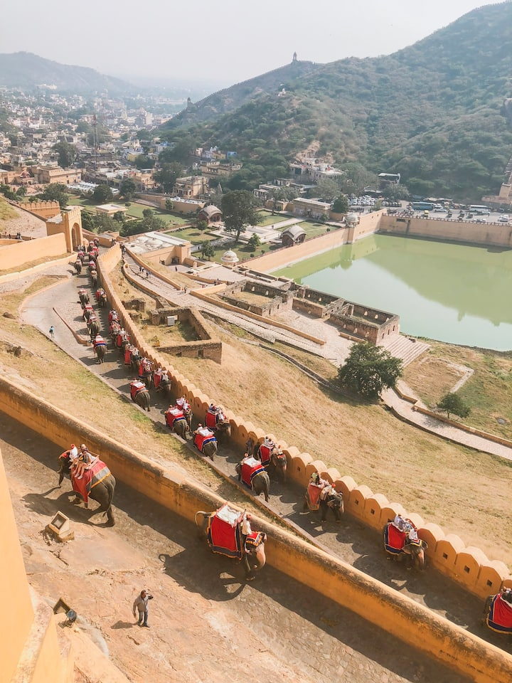 View from the Amer Fort