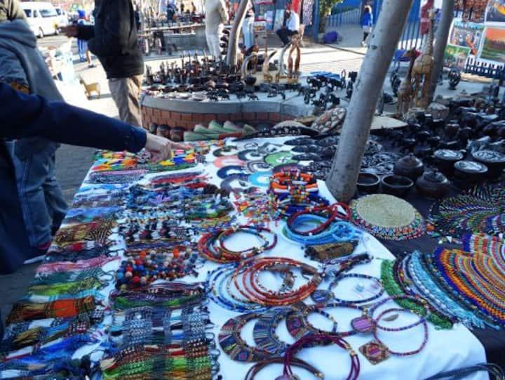 Flea Market in Vilakazi Street