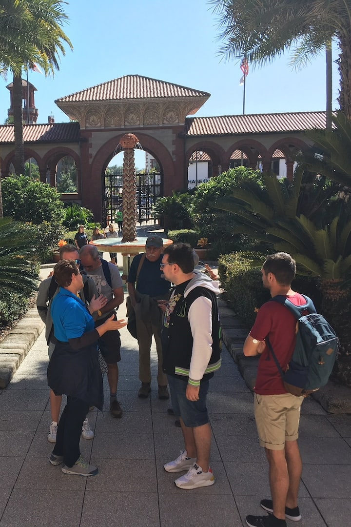 Group at Flagler College