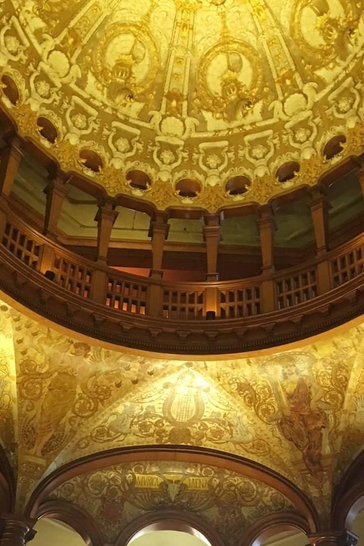 Ponce de Leon Hotel vestibule