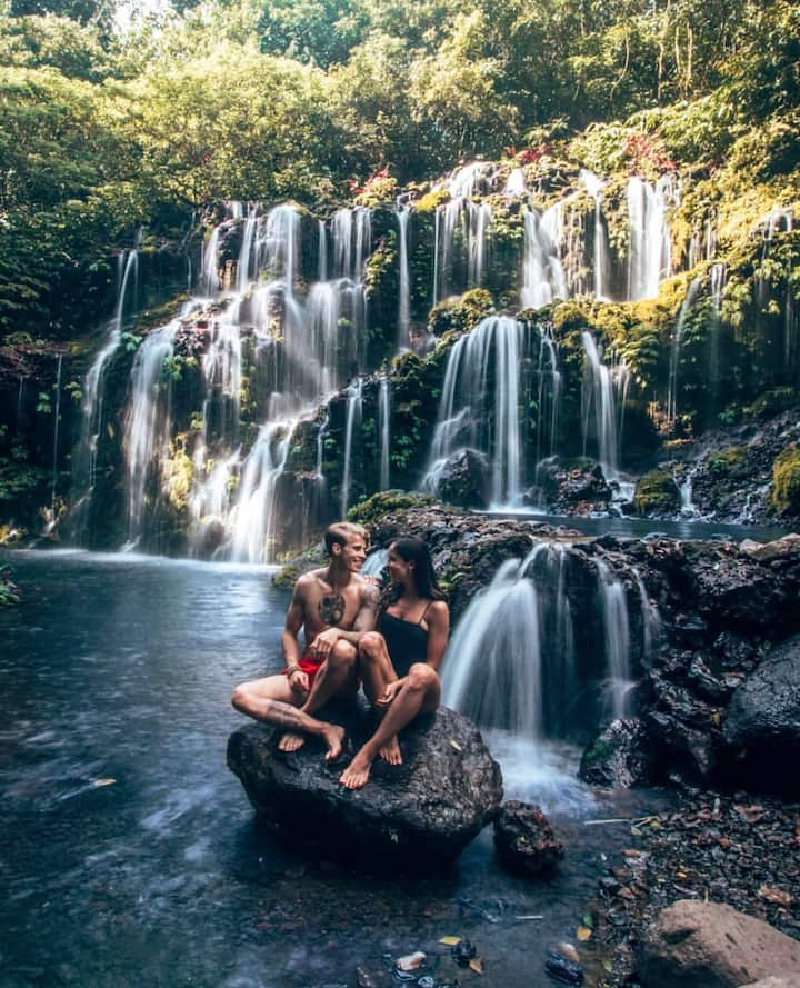 Cato Lampo Waterfalls