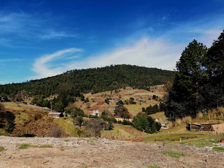 Vista panoramica del lugar donde vamos