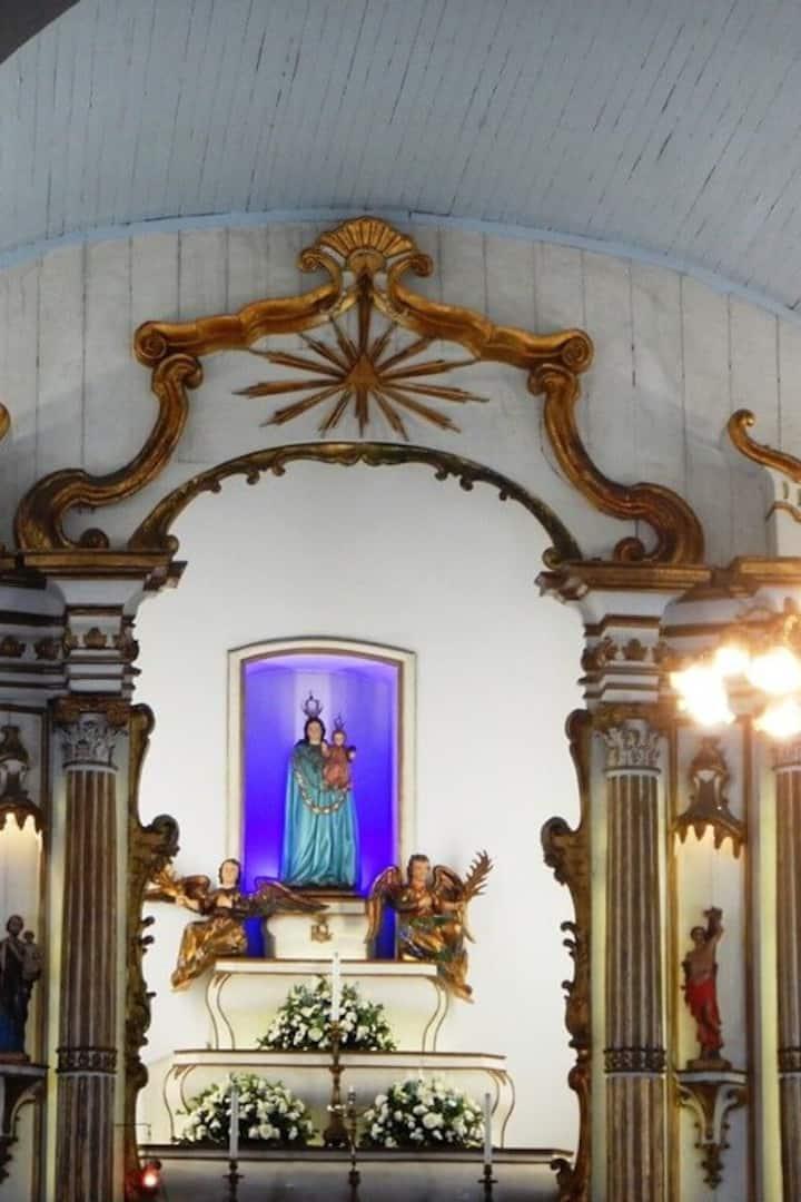 Interior da Igreja do Loreto