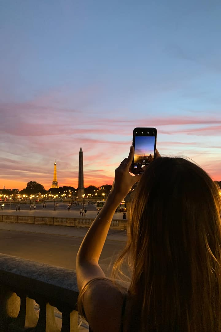 the end of The Great Paris Layover