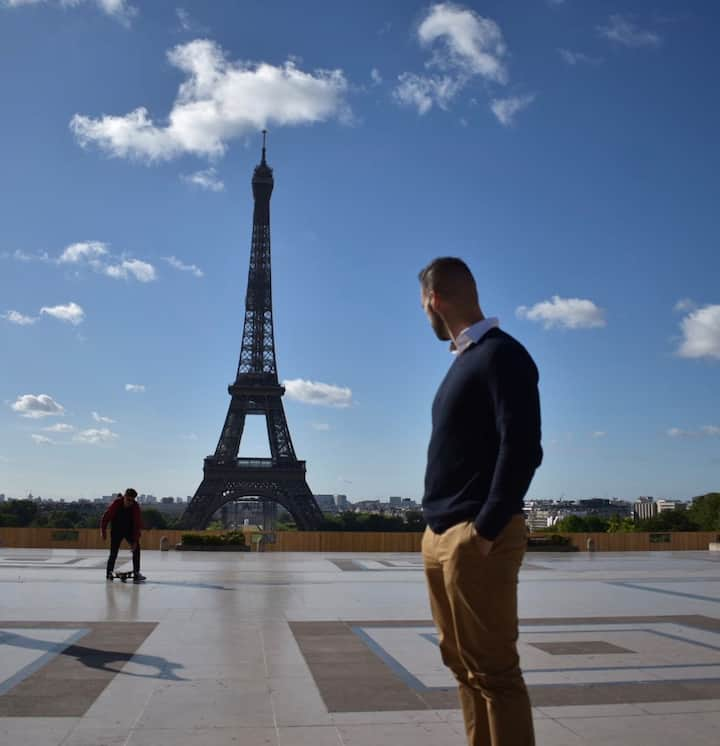 Great Paris Layover gets those photos!